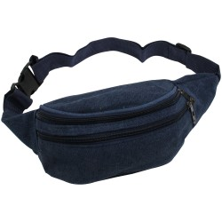 Borseta sport de brau, material textil, albastru, 20 x 12 cm, ABC300
