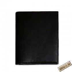 Port card, piele naturala, negru, protectie RFID, 9.5 x 11.5 cm, B1233RFID - Port carduri